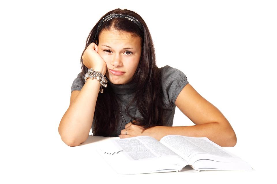 Le stress pendant un examen scolaire