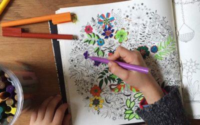 Coloriage anti-stress: laissez libre cours à votre créativité